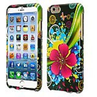 HR Wireless Design Cover for iPhone 6 (4.7-Inch) - Retail Packaging - Eternal Flower