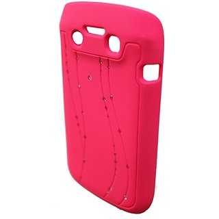 Go BC885 Luxurious Bling Diamond Tears Hard Case for BlackBerry 9790 - 1 Pack - Retail Packaging - Pink