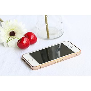 iPhone 6/6S case, iPhone 6/6S Stainless Steel Bumper - Premium Metal Bumper Frame Case Slim Perfect Fit Hard Sides Cover