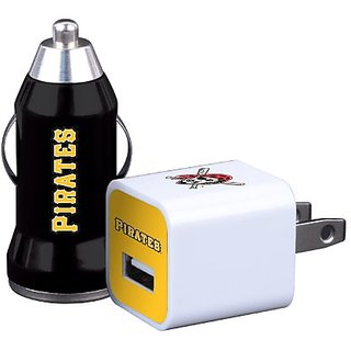 MLB Pittsburgh Pirates Home and Away Charger