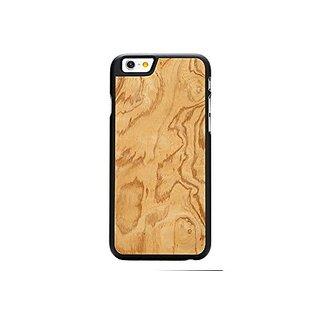 CARVED Olive Ash Burl iPhone 6/6s Black Case