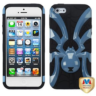 MYBAT IPHONE5HPCSKSB008NP Unique Spiderbite Protective Cover for iPhone 5 / iPhone 5S - 1 Pack - Retail Packaging...