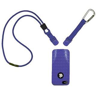 Speak Easy 11056P-C31 Speak Easy Neck It Case for iPhone 5 - Retail Packaging - Purple