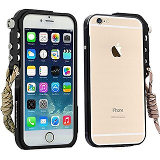 Tuohai Arm Trigger Metal Frame Case Bumper Case for Apple Iphone 6 Plus