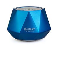 Opteka Portable Wireless Bluetooth Speaker With Built-In Speakerphone & 4 Hour Rechargeable Battery (Blue)