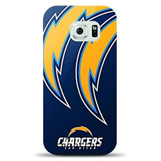 Mizco Sports Case Samsung Galaxy S6 Licensed TPU NFL San Diego Chargers Case