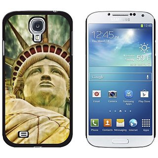 Graphics and More Artistic Statue of Liberty, New York Ellis Island Snap-On Hard Protective Case for Samsung Galaxy S4