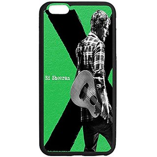 Ed Sheeran Album Cover Design Iphone 6 plus Case,Case-Unique Protective Cover Skin for Iphone 6 plus 5.5 TPU Black