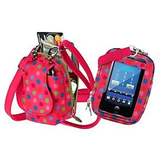Charm 14 PursePlus Touch Cell Phone Purse - Retail Packaging - Groovey Daisy