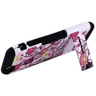 Cell-Pak Gear Fusion Case for iPhone 6 Plus -Retail Packaging-Hawaiian Flower