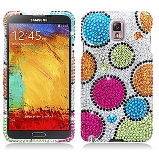 Aimo Wireless Dazzling Diamond Bling Case for Samsung Galaxy Note 3 Verizon, AT&T, Sprint, T-Mobile, US Cellular - Retai