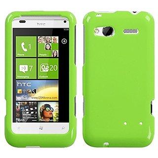 MyBat HTC Radar 4G Natural Phone Protector Cover - Retail Packaging - Green
