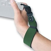 OP/TECH USA 6719062 SLR Wrist Strap, Neoprene Camera Wrist Strap (Forest Green)