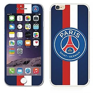 StyleProtect PSG PARIS SAINT GERMAN Soccer Design Tempered Glass Front & Back Screen Protector for Iphone 6 Plus/6S Plus
