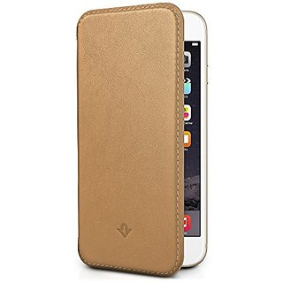 Twelve South SurfacePad for iPhone 6 Plus, camel Ultra-slim luxury leather cover + display stand