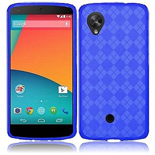 HR Wireless LG Nexus 5 TPU Protective Cover - Retail Packaging - Blue