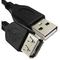 ReadyPlug 6 Feet Micro USB Cable For Nokia Lumia 710 T-Mobile A-B Micro New Black Cord - Non-Retail Packaging - Black