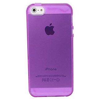 Versio Mobile VM-20183 Flexiglas Case for iPhone 5 - Clear Purple