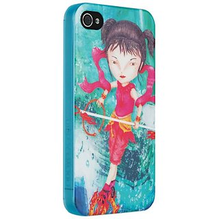 Odoyo PH393NS X A.JIN Collection for iPhone 4/4S Case with Screen Protector - Carrying Case - Retail Packaging - Nimblen