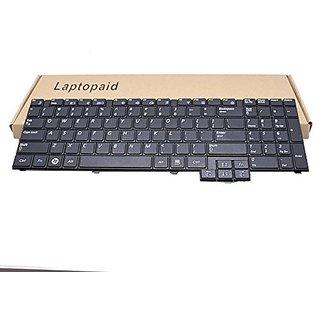 Laptopaid New Keyboard For Samsung R528 R530 NP-R530 R540 NP-R540 NP-R620 R620 R618 P580 RV510 RV508 S3510 E352 US Black