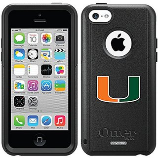 Coveroo Defender Series Cell Phone Case for iPhone 5/5s - Retail Packaging - Miami U