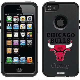 Coveroo Chicago Bulls Design Phone Case for iPhone 5/5s - Retail Packaging - Black