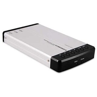Macally PHR-250M4 USB 2.0 2.5-Inch IDE Hard Drive Enclosure with MPEG4 Decoder