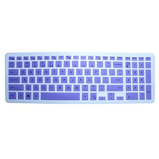 CaseBuy Soft Silicone Keyboard Cover Protector Skin for Dell Inspiron 15 3000 5000 & Inspiron 17 5000 series, 15-3542 i3