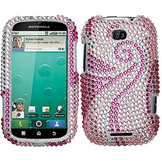 MyBat Diamante Protector Cover for Motorola MB520 (Bravo) - Retail Packaging - Phoenix Tail