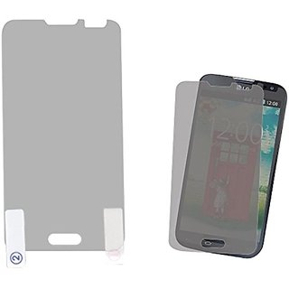 MYBAT Screen Protector Twin-Pack for LG VS450PP Optimus Exceed 2/L70 - Retail-Packaging - Clear