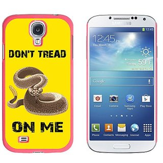 Graphics and More Gadsden Flag in Color Dont Tread on Me Rattlesnake Tea Party Snap-On Hard Protective Case for Samsung