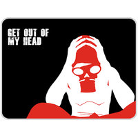 Get Out Of My Head Mouse Pad By Shopkeeda