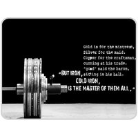 Cold Iron Is The Master Of Them All Mouse Pad By Shopkeeda