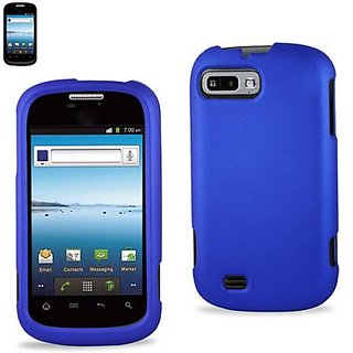 Reiko RPC10-ZTEN850NV Slim and Durable Rubberized Protective Case for ZTE Fury/Director N850 - Retail Packaging - Navy