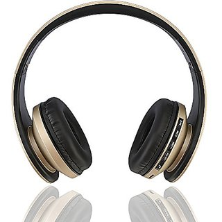 Esonstyle Foldable Wireless Bluetooth Stereo Headset Built-in Micprophone,Wired Earphone, Headphones,Support SD Card Pla