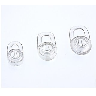 Ear Gels, Ear Buds, 3 Pcs Clear Ear Tips for Plantroncis Bluetooth Headsets, ALXCD Lightweight Eargels for Plantroncis M