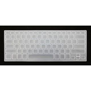 HYAIT 1Pcs Colorful Silicone Keyboard Protector Skin Cover for Sony SVF 13N 14A/E/N 15N FIT 13/14/15A CLEAR
