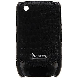 MOBO IM-HMC-HCBB8520-21CBK Leather Cell Phone Case for Blackberry 8520/8530/9300/Curve Gemini - 1 Pack - Retail Packagin