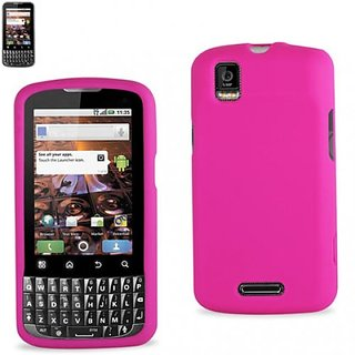 Reiko Silicone Case for Motorola XPRT MB612 - Retail Packaging - Hot Pink