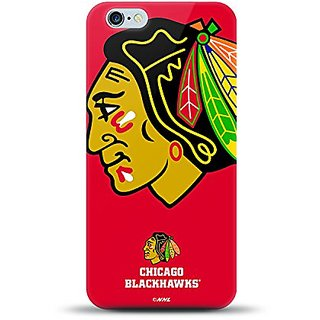 NHL - iPhone 6 Plus/6s Plus Oversized Logo Case - CHICAGO BLACKHAWKS