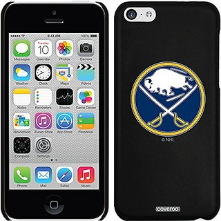 Coveroo Thinshield Snap-On Case for iPhone 5c - Retail Packaging - Black/Buffalo Sabres Primary Logo Design