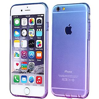 iPhone 6 Case, iPhone 6 Cover Colorful Clear Shell Slim Case Translucent Impact Resistant Flexible TPU Soft Bumper Case