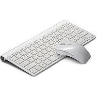 MOTOSPEED Ultra Thin Slim 2.4 GHz DPI Wireless Keyboard & Optical Mouse Combo Set Kit With USB Nano Receiver For Windows