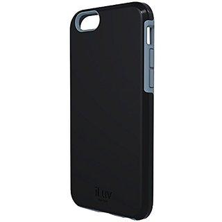 iLuv Regatta Case for iPhone 6 4.7-Inch - Retail Packaging - Black