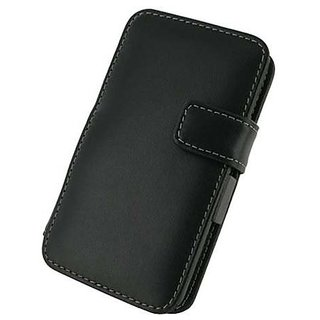 Monaco LG Thrill 4G Monaco Book Type Leather Case - Retail Packaging - Black