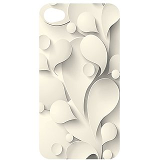 Gift Trenz Kangaroo Lab Ultra Thin Vanilla Abstract iPhone 4/4s Case - Retail Packaging - Multicolor
