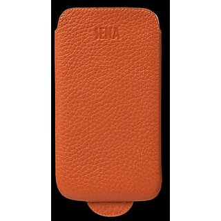 Sena 837211 UltraSlim Leather Case for Samsung Galaxy Note II - 1 Pack - Retail Packaging - Orange