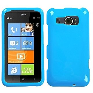 MyBat HTC Titan II Natural Phone Protector Cover - Retail Packaging - Blue