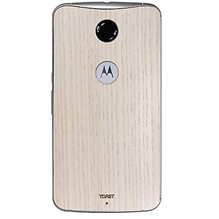 TOAST Real Wood Cover for Nexus 6 - Retail Packaging - Ash