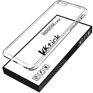 iPhone 6 Plus Case, KKtick 5.5 Ultra Slim Crystal Clear back panel Metal Plating Bumper case iPhone 6s Plus Gel Case Fra